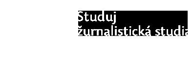 Studuj žurnalistická studia v Olomouci